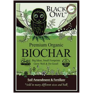Black Owl BioChar by walts organic fertilizers
