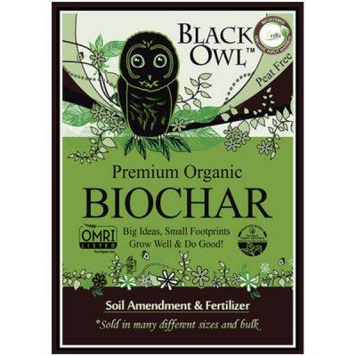 Black Owl BioChar by walts organic fertilizers