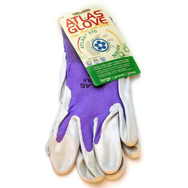 Purple Atlas Touch Screen Compatable Garden Gloves Gloves By